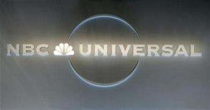 <p>An NBC Universal logo is pictured at the NBC Universal Summer press tour in Beverly Hills, California July 21, 2008. REUTERS/Fred Prouser</p>