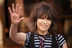 <p>Rock singer Chrissie Hynde arrives at the first ever PETA (People for the Ethical Treatment of Animals) Europe humanitarian awards at the Stella McCartney fashion boutique in London,Britain June 28, 2006. REUTERS/David Moir</p>