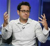 """<p>J.J. Abrams, executive producer of the new drama series """"fringe"""" takes part in a panel discussion at the Fox TV network summer press tour in Beverly Hills, California July 14, 2008. REUTERS/Fred Prouser</p>"""