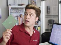 """<p>Brad Pitt in a scene from Joel and Ethan Coen's """"Burn After Reading"""". REUTERS/Focus Features/Handout</p>"""
