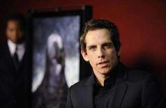 """<p>Executive producer of """"The Ruins"""", Ben Stiller, attends a special screening of the film in Los Angeles April 2, 2008. REUTERS/Phil McCarten</p>"""
