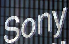 <p>Il logo di Sony in una fiera a Tokyo. REUTERS/Toshiyuki Aizawa (JAPAN)</p>