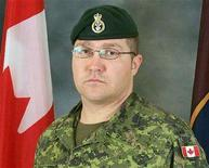 <p>An undated photo handout photo of Canadian Sergeant Prescott Shipway who was killed while on patrol in the Panjwayi district of southern Afghanistan on September 7, 2008. REUTERS/ Department of National Defence/ Handout</p>