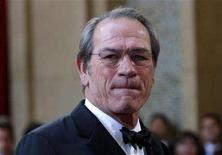 "<p>Tommy Lee Jones, best actor Oscar nominee for ""In the Valley of Elah"" arrives at the 80th annual Academy Awards in Hollywood, February 24, 2008. REUTERS/Carlos Barria</p>"