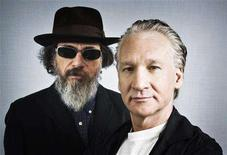 "<p>Documentary film ""Religulous"" narrator Bill Maher and director Larry Charles (R) pose for a portrait during the 33rd Toronto International Film Festival September 7, 2008. REUTERS/Mark Blinch</p>"