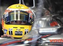 <p>Mosley rejeita acusação de que FIA persegue Hamilton. Max Mosley, presidente da Federação Internacional de Automobilismo (FIA), rebateu a acusação de que a entidade teria agido de forma injusta com a McLaren e Lewis Hamilton quando tirou a vitória do piloto no Grande Prêmio da Bélgica. 12 de setembro. Photo by Alessandro Bianchi</p>