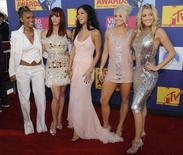 <p>The Pussycat Dolls arrive at the 2008 MTV Video Music Awards in Los Angeles September 7, 2008. REUTERS/Phil McCarten</p>