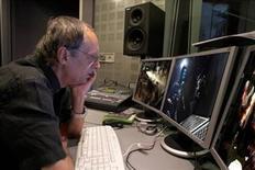 <p>Dario Argento impegnato nel doppiaggio del videogioco. REUTERS/Ho</p>