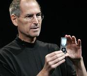 <p>L'amministratore delegato di Apple, Steve Jobs. REUTERS/Robert Galbraith</p>