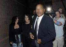 <p>L'ex stella del football O.J. Simpson in tribunale. REUTERS/Jae C. Hong/Pool</p>