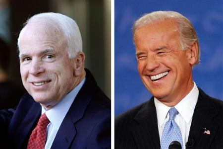 Long Time Pals Biden And Mccain Now Spirited Foes Reuters