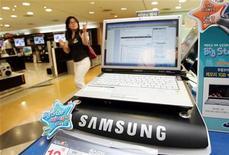 <p>Samsung ritorna nel mercato Usa dei computer notebook. REUTERS/You Sung-Ho</p>