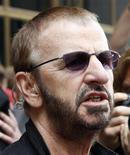 <p>L'ex batterista dei Beatles, Ringo Starr. REUTERS/Frank Polich</p>