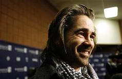 """<p>Colin Farrell smiles at the premiere of """"In Bruges"""" at the Eccles theatre on the opening day of the 2008 Sundance Film Festival in Park City, Utah January 17, 2008. REUTERS/Mario Anzuoni</p>"""