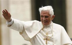 <p>Papa Benedetto XVI. REUTERS/Giampiero Sposito</p>