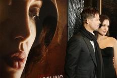 """<p>Brad Pitt e Angelina Jolie al New York Film Festival per la presentazione di """"Changeling"""", il 4 ottobre 2008. REUTERS/Lucas Jackson</p>"""