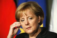 <p>Angela Merkel, cancelliere tedesco. REUTERS/Nikola Solic (ITALY)</p>