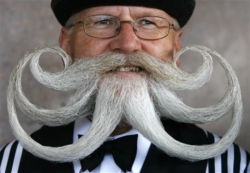 Tribute to the moustache | Reuters com