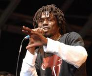 """<p>Emmanuel Jal in an undated photo. Jal, who fought with the Sudan People's Liberation Army for five years as a child and guesses he is 28 years old, tells his story in detail in the documentary """"War Child,"""" released on DVD this month, and in a memoir and an album of the same name. REUTERS./Handout</p>"""
