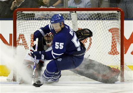 Blake's magic moment lifts Leafs to win over Devils