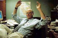 <p>Reuters correspondent and editor Arthur Spiegelman is shown in this undated photo in his office in Los Angeles. One of Reuters' finest writers and longest-serving correspondents, Spiegelman died at home in Los Angeles December 20, 2008 at the age of 68. REUTERS/Family of Arthur Spiegelman/Handout</p>