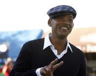 """<p>Foto de arquivo de Will Smith na festa de lançamento de """"Madagascar 2"""" no teatro Mann Village, em Westwood. Smith é eleito estrela mais lucrativa de 2008. REUTERS/Mario Anzuoni</p>"""