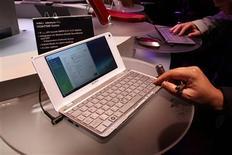 <p>A Sony planeja lançar o notebook de 8 polegadas mais leve do mundo, abrindo espaço em um mercado de computadores pessoais ultra portáteis que cresce aceleradamente. REUTERS/Steve Marcus (UNITED STATES)</p>