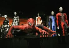 <p>Un costume di Spiderman REUTERS/Patrick Andrade</p>