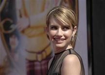 "<p>Emma Roberts attends the world premiere of ""Nancy Drew"" held at the Grauman's Chinese Theatre in Hollywood June 9, 2007. REUTERS/Phil McCarten</p>"