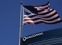 <p>Foto de archivo de una de las sedes de QUALCOMM en San Diego, EEUU, 22 jul 2008. El fabricante de chips QUALCOMM anunció el martes que adquirió los activos de gráficos y multimedia de AMD. REUTERS/Mike Blake</p>