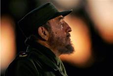 <p>Fidel Castro in un'immagine del 29 aprile del 2006. REUTERS/Claudia Daut</p>