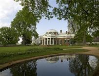 <p>Thomas Jefferson's Monticello in Charlottesville, Virginia. REUTERS/Thomas Jefferson Foundation/Monticello</p>