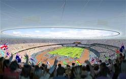 <p>This computer-generated image released by The Olympic Delivery Authority (ODA) in London shows the design for the Olympic Stadium, the flagship venue for the 2012 Olympic and Paralympic Games, November 7, 2007. REUTERS/Olympic Delivery Authority/Handout</p>