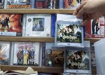 <p>Immagine d'archivio di dvd in un espositore. REUTERS/Zainal Abd Halim ZH/YN</p>