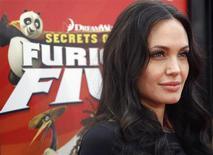 <p>Angelina Jolie no lançamento do DVD de Kung Fu Panda REUTERS/Mario Anzuoni (UNITED STATES)</p>