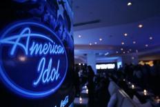 "<p>The ""American Idol"" logo in a file photo. REUTERS/Mario Anzuoni</p>"