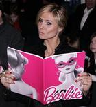 <p>La top model Heidi Klum alla sfilate per i 50 anni di Barbie a New York. REUTERS/Carlo Allegri (UNITED STATES)</p>