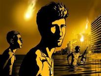 "<p>A scene from Israel's ""Waltz with Bashir"" is seen in this undated handout photo. REUTERS/Sony Pictures Classics</p>"