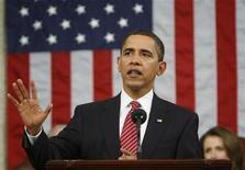 <p>Il presidente Usa Barack Obama. REUTERS/Pablo Martinez Monsivais/Pool (UNITED STATES)</p>