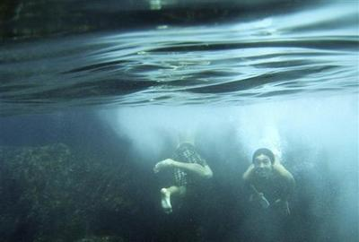 Under the sea