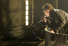 <p>Banda irlandesa U2 toca no prédio da BBC em Londres. REUTERS/Jamie Simmonds/BBC/Divulgação</p>