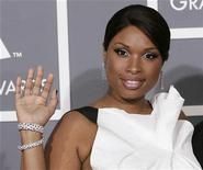 <p>Jennifer Hudson arrives at the 51st annual Grammy Awards in Los Angeles February 8, 2009. REUTERS/Danny Moloshok</p>