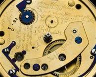 """<p>Um relógio de ouro de Abraham Lincoln carrega uma mensagem marcando a estreia da Guerra Civil norte-americana, mas o presidente nunca soube da inscrição """"secreta"""" descoberta na terça-feira pelo Museu Nacional da História Americana. REUTERS/Museu Nacional da História Americana/Divulgação (ESTADOS UNIDOS)</p>"""