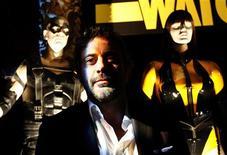 """<p>O filme de super-heróis """"Watchmen"""" foi o mais popular do fim de semana nas salas de cinema da Grã-Bretanha, desbancando o vencedor do Oscar """"Quem Quer Ser um Milionário"""". REUTERS/Mario Anzuoni (ESTADOS UNIDOS)</p>"""