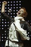 <p>Estrela pop australiana, Kylie Minogue, durante apresentação, neste sábado, em evento para as vítimas dos incêndios florestais que deixaram 210 mortos e 10.000 desabrigados. REUTERS/Mick Tsikas</p>
