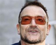 <p>Il cantante degli U2 Bono. REUTERS/Gary Hershorn</p>
