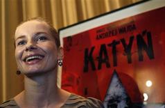 "<p>Atriz polonesa Magdalena Cielecka do filme ""Katyn"", em Hollywood. 22/02/2008. REUTERS/Carlos Barria</p>"