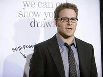 "<p>Seth Rogen attends the premiere of the film ""Zack and Miri Make a Porno"" in Los Angeles October 20, 2008. REUTERS/Phil McCarten</p>"