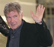 <p>L'attore Harrison Ford. REUTERS/Will Burgess</p>