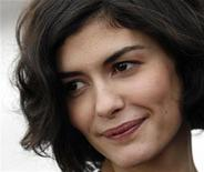 """<p>French actress Audrey Tautou poses for photographers in Budapest April 18, 2008. Tautou is in Hungary for the premiere of her film """"Ensemble, c'est tout"""" (Hunting and Gathering) during a French film festival. REUTERS/Karoly Arvai</p>"""